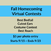 Fall Homecoming Contests - $5