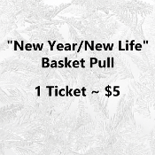 $5 New Year/New Life Basket Pull - 1 Number