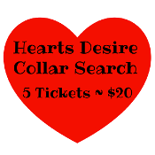 $20 Hearts Desire Collar Search - 5 Numbers
